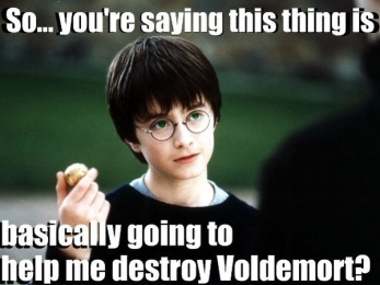 Harry Potter Foreshadowing